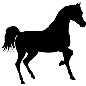 Trotting Horse Stencil