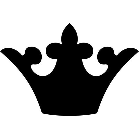 Ducal Coronet Crown Stencil