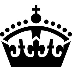 Royal Crown Stencil