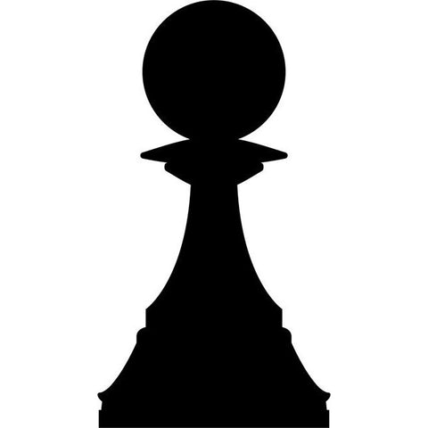 Pawn Chess Stencil