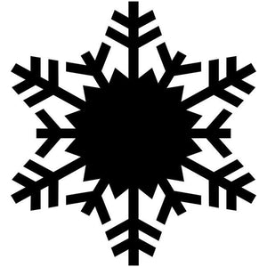 Fern Snowflake Craft Stencil