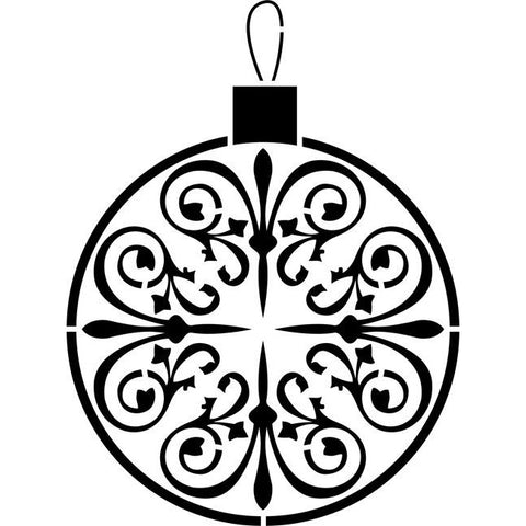 Christmas Ornament Stencil
