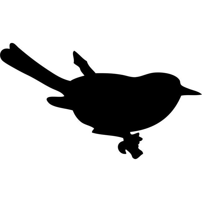 Perched Bird Stencil