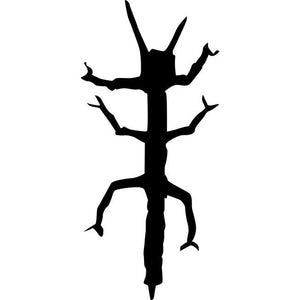 Walking Stick Stencil