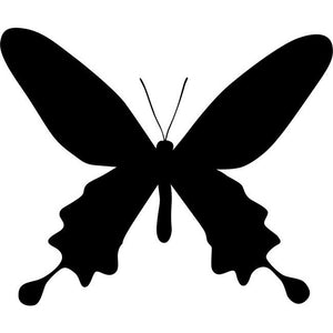 Long-Winged Butterfly Stencil