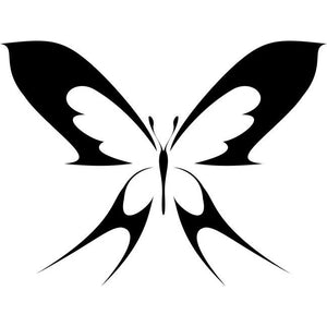 Two-tailed Butterfly Stencil
