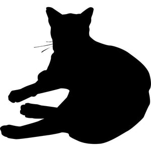 Lounging Cat Stencil 03 by Crafty Stencils