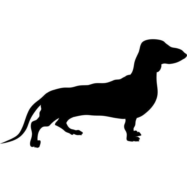 Dachshund Dog Stencil by Crafty Stencils