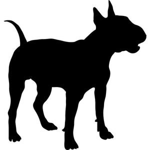 Bull Terrier Dog Stencil by Crafty Stencils