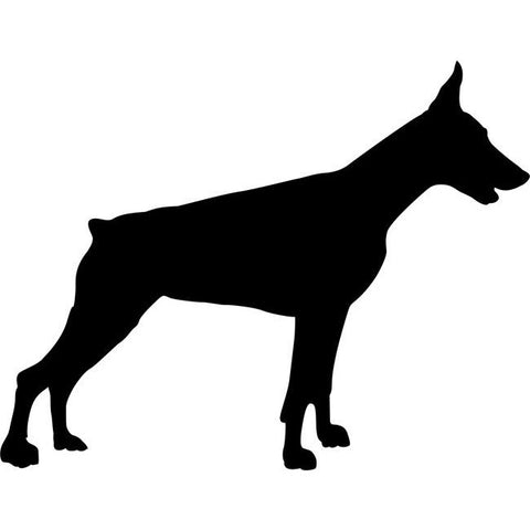 Doberman Dog Stencil