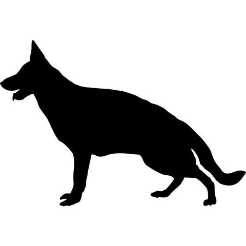 German Shepherd Dog Stencil
