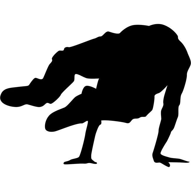 Break Dance Stencil 01