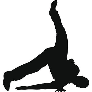 Windmill Break Dance Stencil