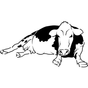 Dairy Cow Stencil by Crafty Stencils