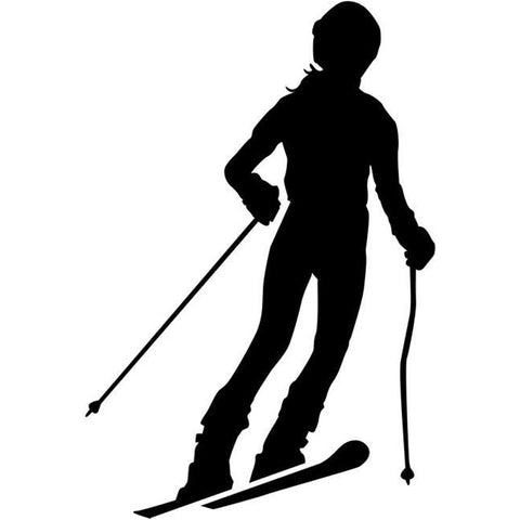 Parallel Skiing Stencil