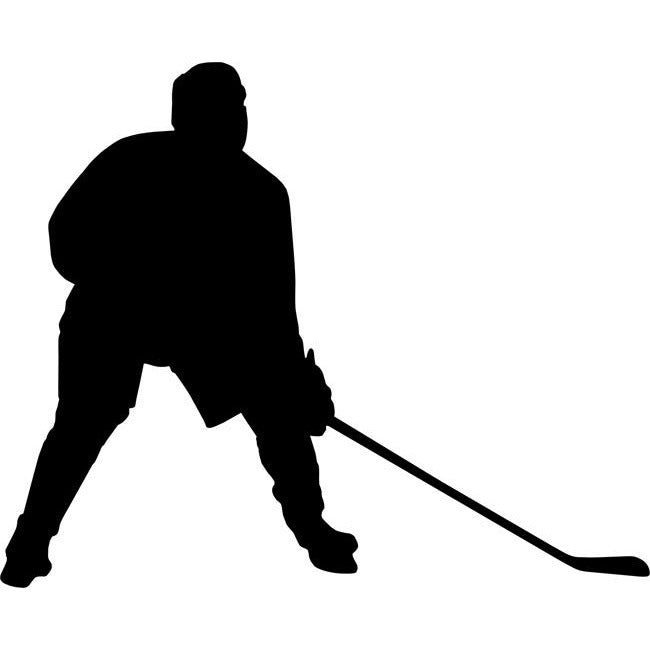 Defensemen Hockey Stencil