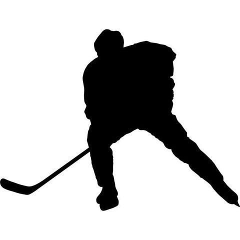 Slapshot Hockey Stencil by Crafty Stencils