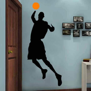 Basketball Player Stencils
