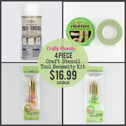 Craft Stencil Tools Necessity Set