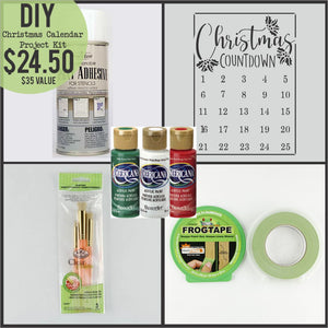 Christmas Countdown Calendar Project Kit