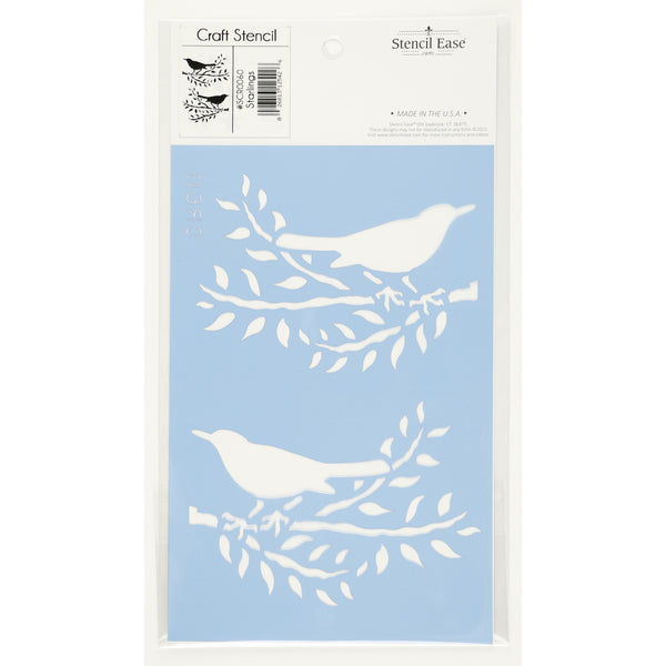 Starlings Craft Stencil