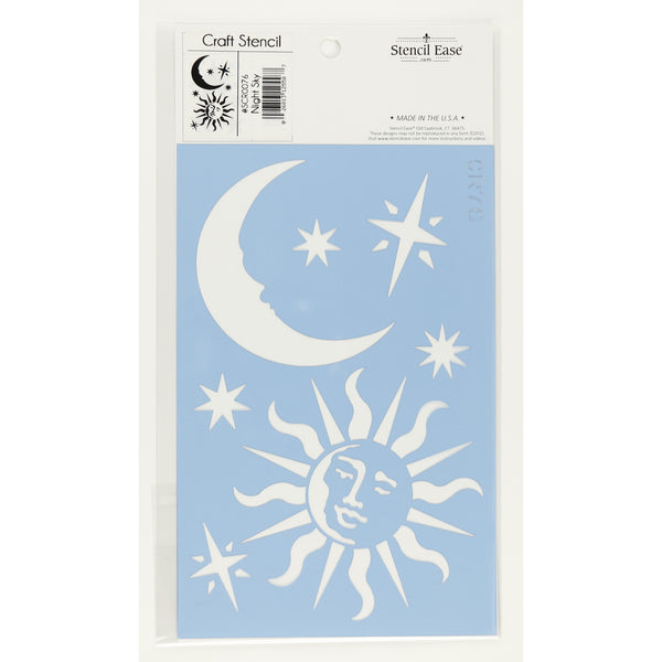 Night Sky Craft Stencil