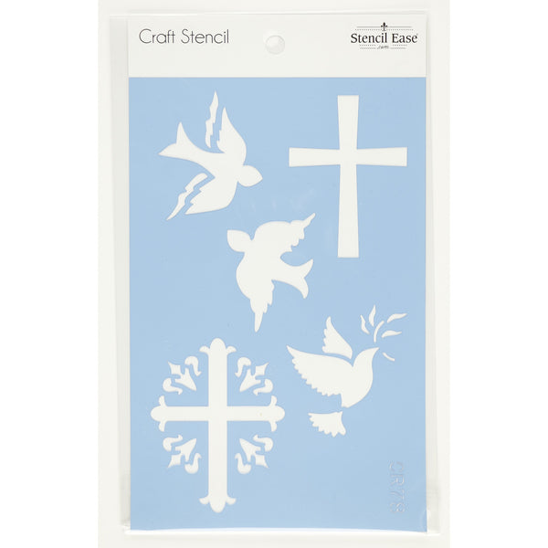 Heavenly Motif Craft Stencil