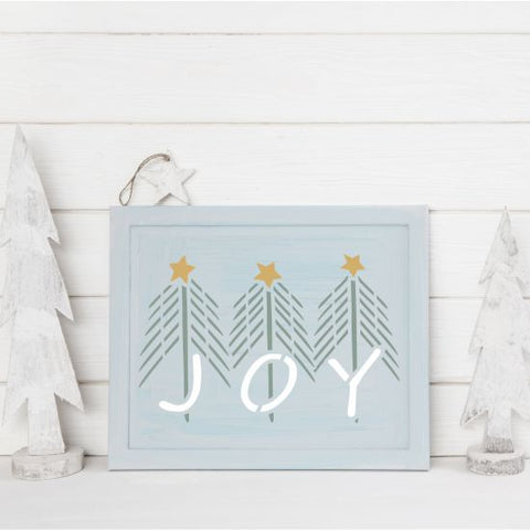 Holiday Pine Craft Stencil