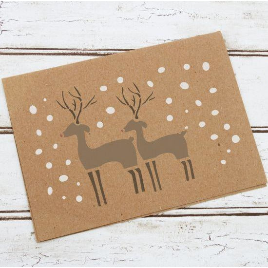 Reindeer Craft Stencil