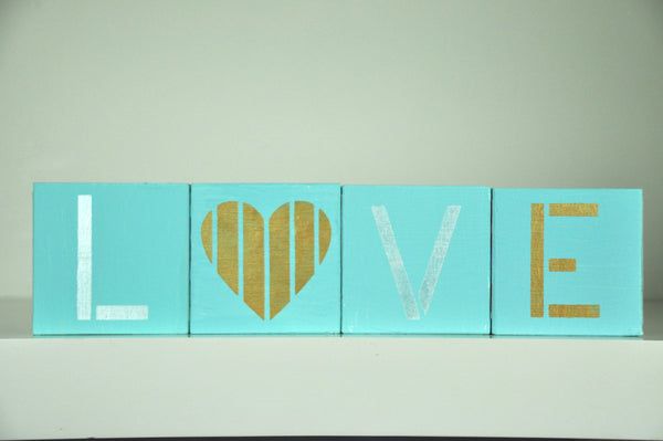L is for Love Craft Stencil