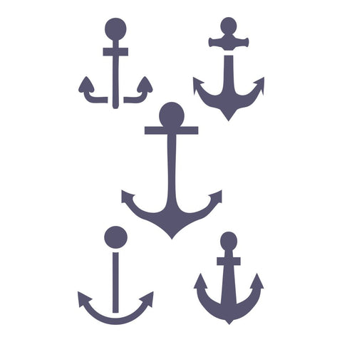 Anchors Craft Stencil