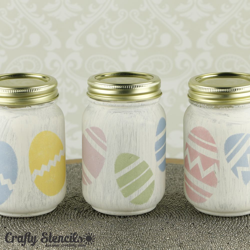 Easter Eggs Craft Stencil