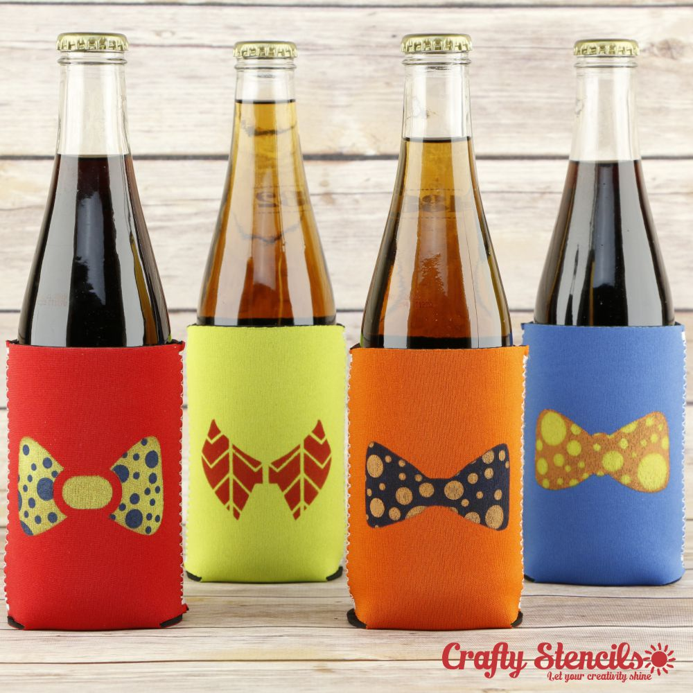 Bow Ties Craft Stencil