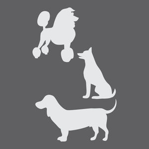 Dogs Craft Stencil
