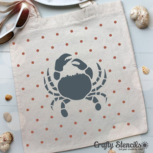 Crab Craft Stencil