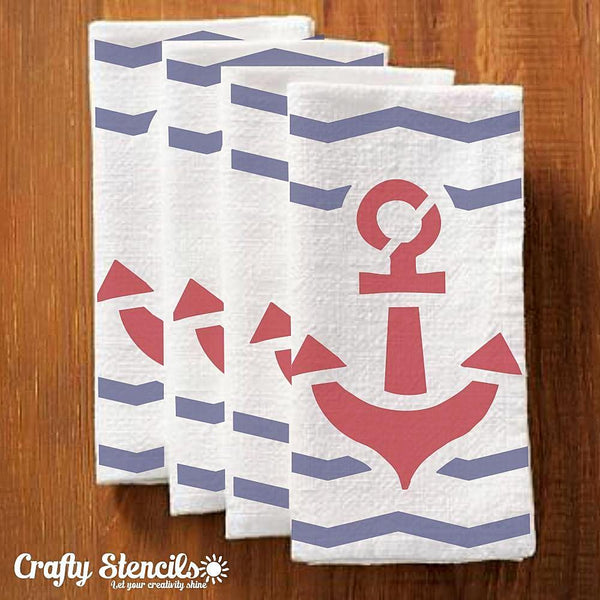 Anchor Craft Stencil