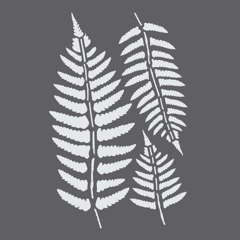 Vintage Ferns Craft Stencil