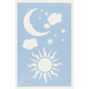 Heavenly Skies Craft Stencil 3pc
