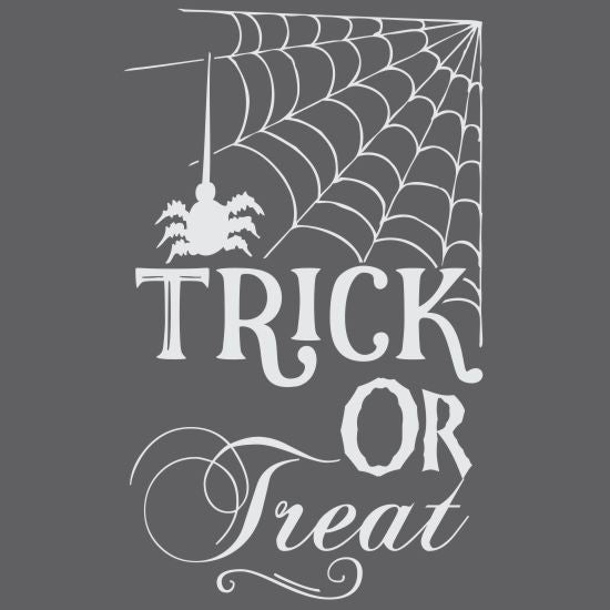 Trick or Treat Halloween Craft Stencil
