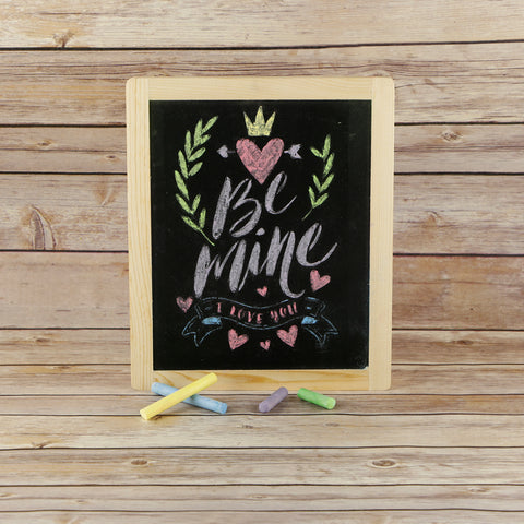 Be Mine Craft Stencil by Crafty Stencils