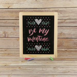 Be My Valentine Craft Stencil