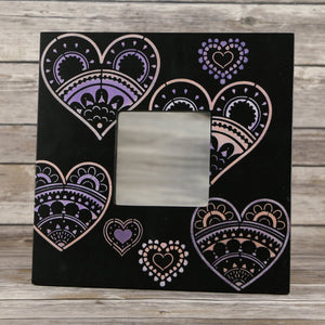 Paper Hearts Craft Stencil by Crafty Stencils