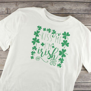 Kiss Me I'm Irish Craft Stencil by Crafty Stencils