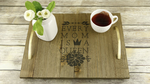 Queen Mom Craft Stencil by Crafty Stencils