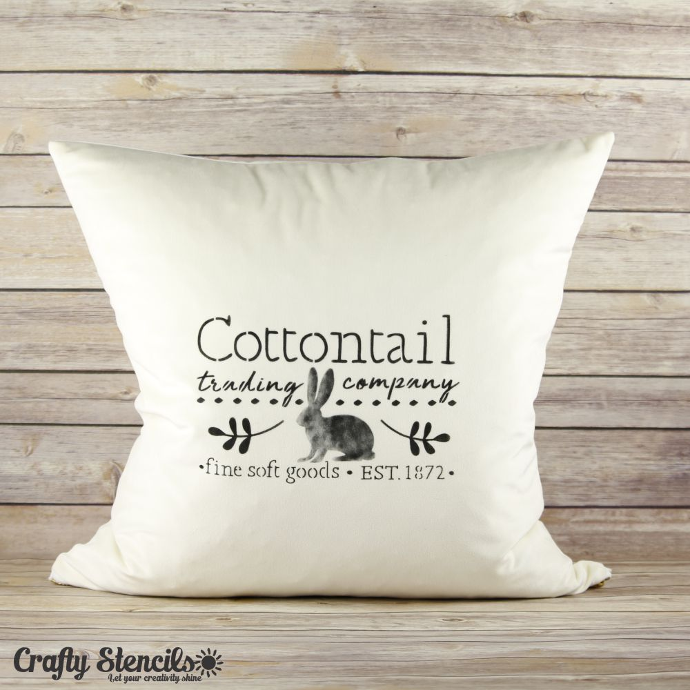 Cottontail Trading Craft Stencil