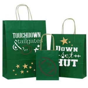 Touchdown and Tailgates Craft Stencil