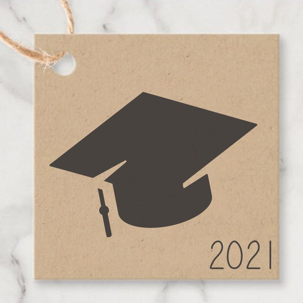 Cap and Diploma Craft Stencil