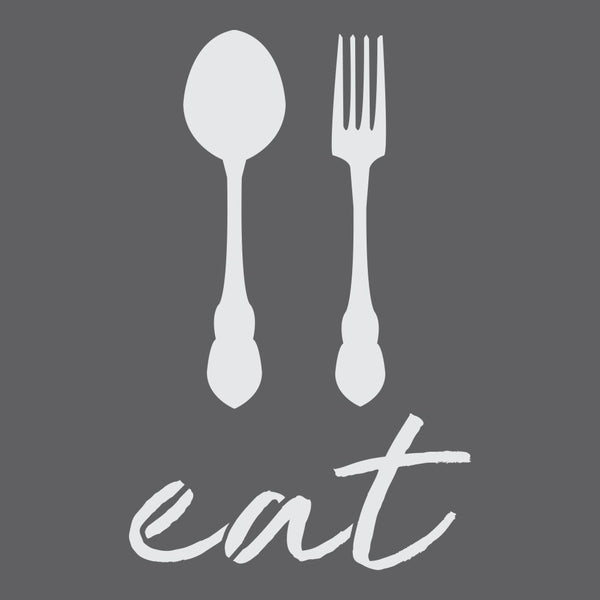Eat! Craft Stencil