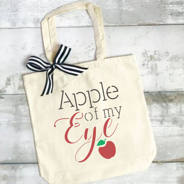 Apple of My Eye Craft Stencil