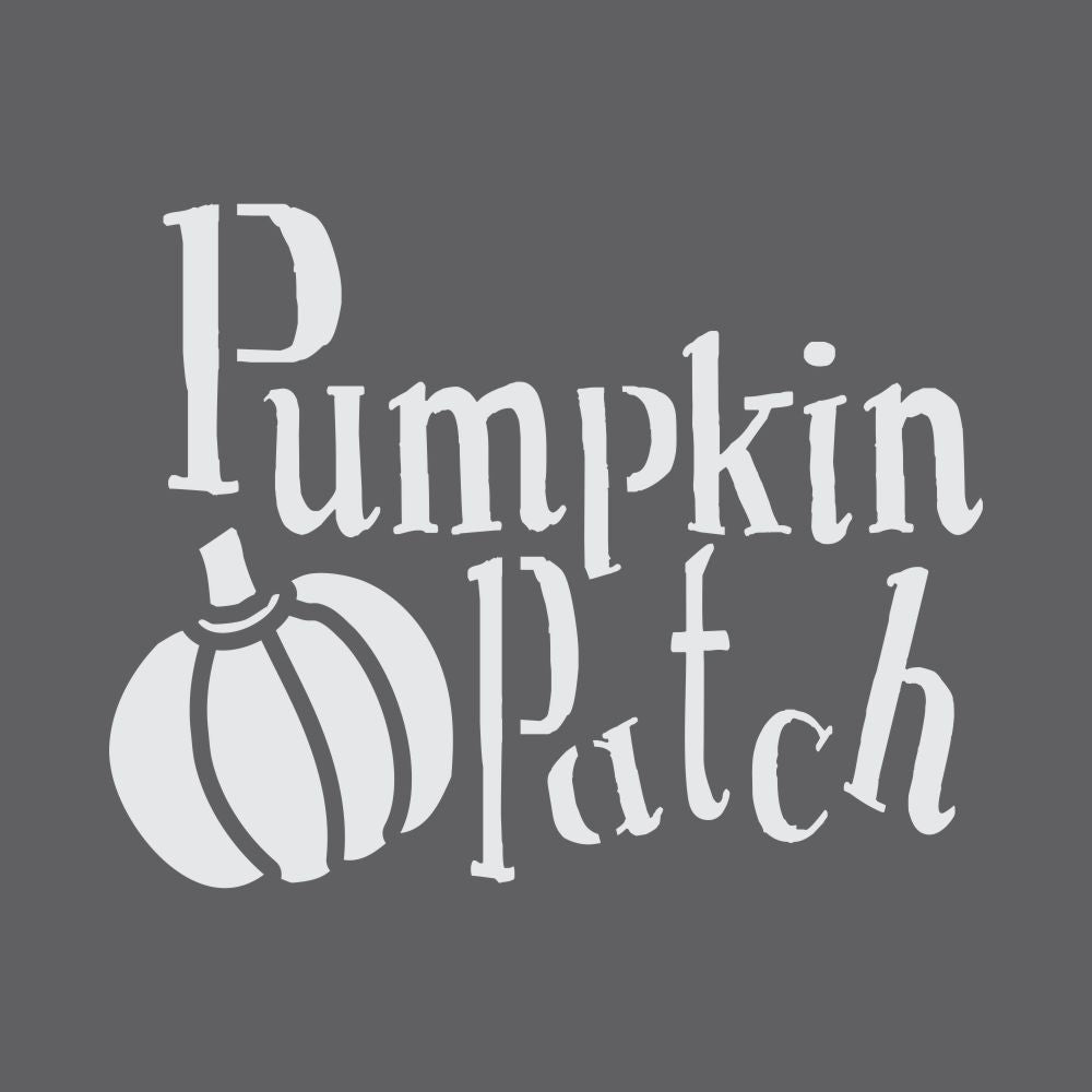 Pumpkin Patch Craft Stencil